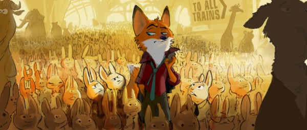 Zootopia Concept Art Reveals Disney's Majestic Animal Kingdom